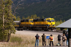Alaska Rail Road System Royalty Free Stock Photos