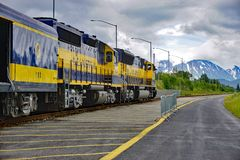 The Alaska Railroad Stock Photos