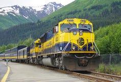 The Alaska Railroad Royalty Free Stock Images