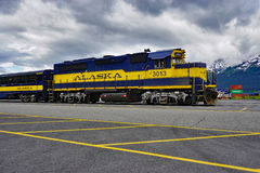The Alaska Railroad Royalty Free Stock Images
