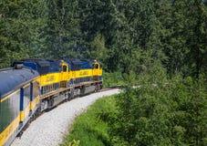 Alaska Railroad Stock Photos