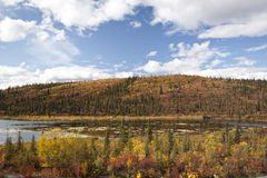 Alaska Range in Denali Royalty Free Stock Photos