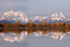Alaska Range in Denali Stock Images
