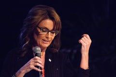 Alaska regulator Sarah Palin Royaltyfria Foton