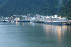 Alaska-Reiseflug Stockbilder