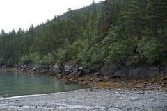 Alaska Rocky Beach Imagenes de archivo