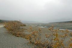 alaska rzeka Zdjęcia Royalty Free