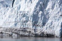 Alaska`s Glacier Close View Stock Photo