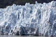 Alaska`s Glacier Scenic Close View Royalty Free Stock Photography