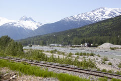 Alaska`s Gold Rush Royalty Free Stock Photo