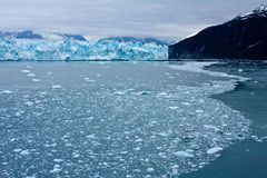Alaska's Hubbard Glacier Royalty Free Stock Image
