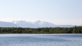Alaska's Lake Lucille Royalty Free Stock Photos