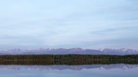 Alaska's Lake Lucille Stock Photos