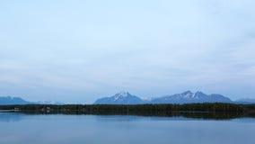 Alaska's Lakes and Mountains Royalty Free Stock Photo