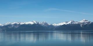 Alaska's Mountainous Coastline Stock Image