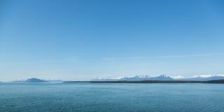 Alaska's Mountainous Shoreline Stock Photos