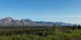 Alaska's Mountains Stock Photo