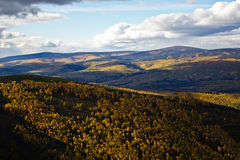 Alaska's Rolling Hills Stock Photography