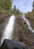 Alaska-` s Sommer-Wasserfälle Lizenzfreie Stockfotos