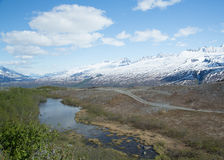 Alaska's Thompson Pass Stock Image