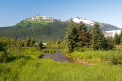 Alaska scenery Stock Photo