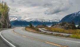 Alaska Sceniczna droga Obraz Stock