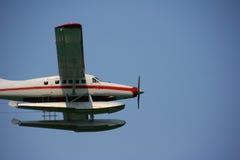 alaska seaplane fotografering för bildbyråer