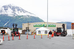 Alaska Seward Cruise Ship Terminal 2 Royalty Free Stock Photo