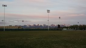 Alaska skönhet Royaltyfria Bilder