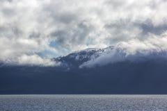 Alaska snow covered mountains Royalty Free Stock Photos