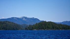 alaska southeast royaltyfri bild