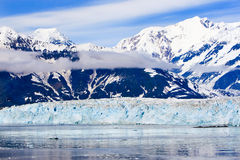Alaska St. Elias Mountains Hubbard Glacier Stock Image