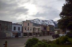 Alaska stad Royaltyfri Bild