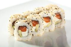 Alaska Sushi Roll Royalty Free Stock Images