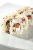 Alaska Sushi Roll Royalty Free Stock Photography