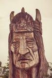 Alaska totem Fotografering för Bildbyråer
