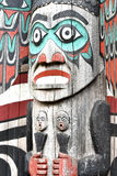 Alaska totem Royalty Free Stock Photos