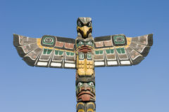 Alaska Totem Pole Series Stock Photography