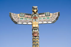 Alaska Totem Pole Series Stock Images