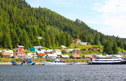Alaska Town of Hoonah Stock Photos