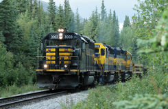 Alaska train Stock Image