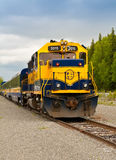 Alaska Train to Whittier Royalty Free Stock Photo