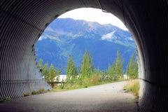 Alaska a través del túnel Fotografía de archivo libre de regalías