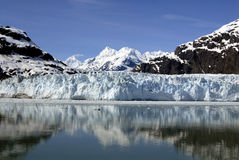 ALASKA/USA _GLACIER BAY_MOUNTIANS Royalty Free Stock Photo