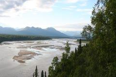 Alaska utomhus arkivfoton