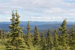 Alaska vildmark Royaltyfria Foton