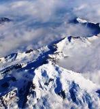 Alaska von der Luft stockbilder