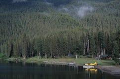 Alaska - Watervliegtuig stock foto's