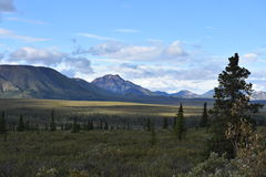 Alaska wieś Obrazy Royalty Free