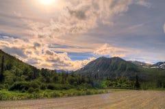 Alaskabo berg Arkivbilder